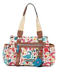 lilly bloom bloom section satchel bloom section handbags