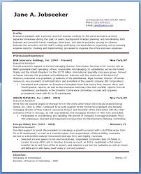 Office Assistant Resume Samples by Executive Assistant Resume Template