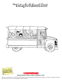 magic bus coloring pages the magic bus printable liz