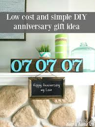 anniversary gift ideas diy and low cost anniversary gift ideas our house now a home