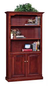 Mahogany Bookshelves by Furniture Wondrous Bookshelves With Doors As Home Storage