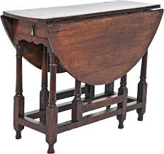 Oak Drop Leaf Table Late 17th Early 18th Century Oak Drop Leaf Table