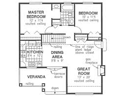 2 Master Bedroom House Plans Craftsman Style House Plan 2 Beds 1 00 Baths 940 Sq Ft Plan 18 1042