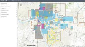 map of tulsa city of tulsa creates neighborhood map ktul