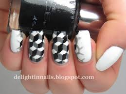 delight in nails 40 great nail art ideas black u0026 white