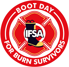 Firefighter Safety Boots by The Boots Were Filled On Boot Day Illinois Fire Safety Alliance