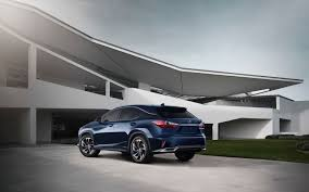 lexus rx 450h luxury 2016 lexus rx 350 f sport and rx 450h show up in nyc autoevolution