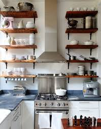 diy kitchen shelving ideas reclaimed wood shelves for eco stylish interiors