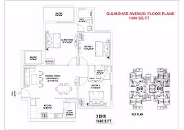 1400 Sq Ft by Indiabulls Gulmohar Avenue In Sector 104 Gurgaon Project