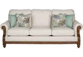 Rooms To Go Sofa Bed Cindy Crawford Home Coconut Bay Ivory Sofa Sofas Beige