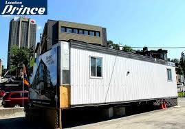 location de bureau à roulotte de chantier québec location prince