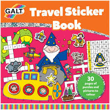 travel sticker book galt toys