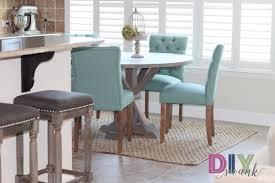 diy round farmhouse table diy furniture archives diy swank