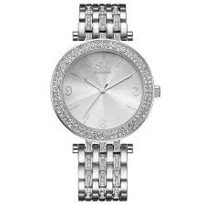 luxury bracelet watches images Luxury women watch crystal sliver dial fashion design bracelet jpg