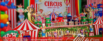carnival themed party circus themed birthday party ideas supplies and planner in pakistan