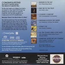 Country Comfort Elton John Elton John Super Audio Cd Sampler Us Promo Super Audio Cd Sacd