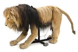 lion puppet slightly saggy aslan puppet puppet research puppet