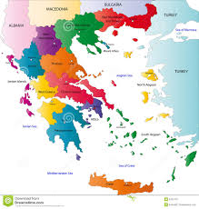 Map Of Italy And Greece by Color Map Of Italy Stock Image Image 6298701