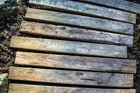 Backyard Walkway Designs - pallet wood walkway all prettied up again funky junk
