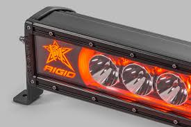 Red Led Light Bars by Rigid Industries 50