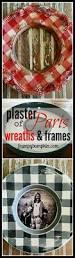 plaster of paris wreaths u0026 frames paint a sign painting parties
