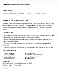 Pharmaceutical Sales Resumes Sales Resume Template 24 Free Word Pdf Documents Download