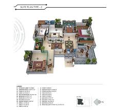 Xs Floor Plan by 3 Bhk Flats Apartments At Durgapura Jaipur Fs Realty