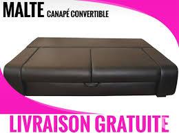 canap convertible livraison gratuite malte noir canapé convertible offres mai clasf