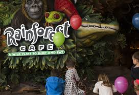 Mall Of America Floor Plan Rainforest Cafe A Little Less Wet Reopens At The Mall Of America