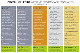 wedding photographer prices new year wedding photography special offer