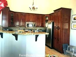 kitchen cabinets per linear foot average cost of kitchen cabinets madebytom co