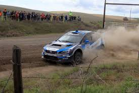 subaru rally drift battle royal between subaru teammates and ford honda manufactures