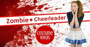 Cheerleader Halloween Costumes Adults Zombie Cheerleader Costume Ideas Looklikeazombie