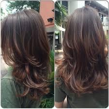 Frisuren Lange Haare Mehr Volumen by Best 25 Stufenschnitt Lange Haare Ideas On