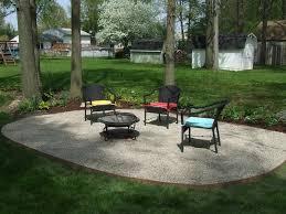 Garden Patios Ideas Triyae Com U003d Pea Gravel Landscape Design Various Design