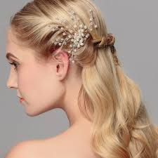 bridal hair clip 1pc lot women bridal hair clip pins pearls