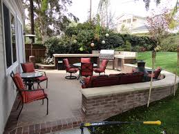 Out Door Patio Outdoor Patio Bbq And Entertainment Area Gemini 2 Landscape