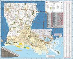 louisiana geographical map mapping