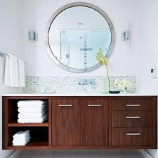 modern bathroom cabinet ideas stylish ways to decorate with modern bathroom vanities realie