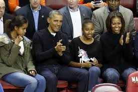 michelle obama first family members expected to attend ncaa