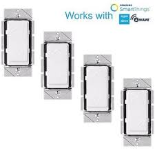 alexa light switch dimmer z wave wall dimmer light switch home automation works with amazon