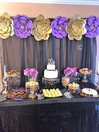 50th birthday party decorations 50th birthday party decoration ideas diy best purple on