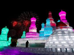 harbin snow and ice festival 2017 tour the stunning harbin ice festival business insider