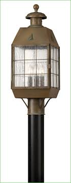 Colonial Outdoor Lighting Fixtures Lighting Innova Lighting Led 3 Light Outdoor L Post Cameo 3