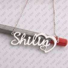 Gold Personalized Name Necklaces Name Necklace Gold Personalized Name Jewellery 2013