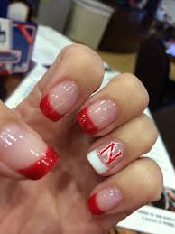 go big red nails go huskers huskers pinterest red