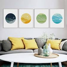 Home Decor Paintings by Online Get Cheap Sun Moon Paintings Aliexpress Com Alibaba Group