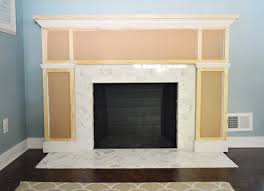 How To Build Fireplace Surround by Our 200 Fireplace Makeover Marble Tile U0026 A New Mantel Young