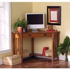 home elegance benton wood corner writing desk and