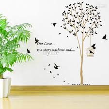 birds nesting tree nature wall stickers decor decals birds nesting tree nature wall stickers decor decals graphic murals for living room